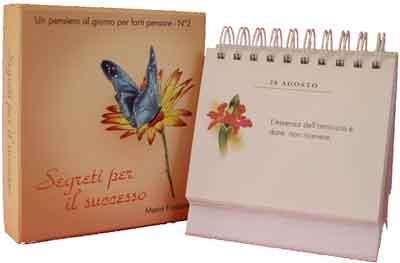 Calendario Frasi Giornaliere.Produzioni Aurora Sas Prodotti Segreti Per Il Successo